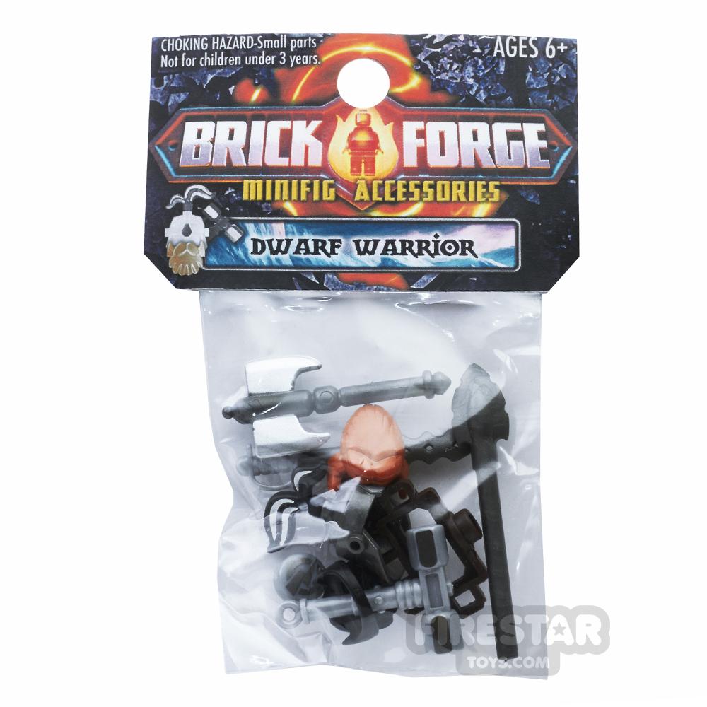 BrickForge Accessory Pack - Dwarf Warrior - Warden
