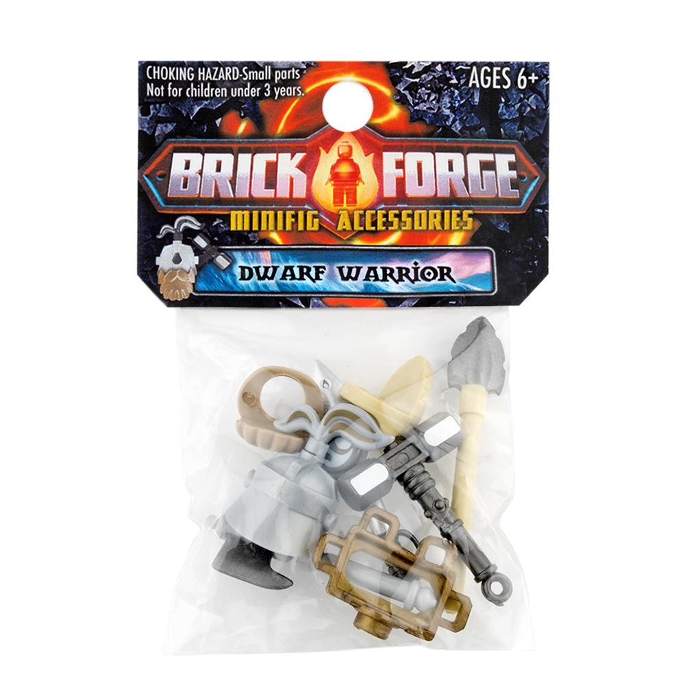 BrickForge Accessory Pack - Dwarf Warrior - Weaponsmith