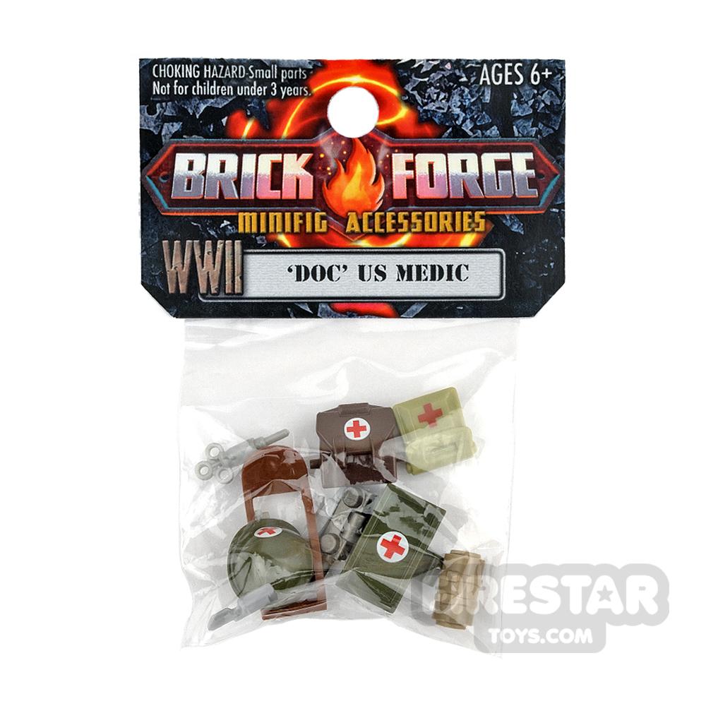 BrickForge Accessory Pack - Doc - US Medic