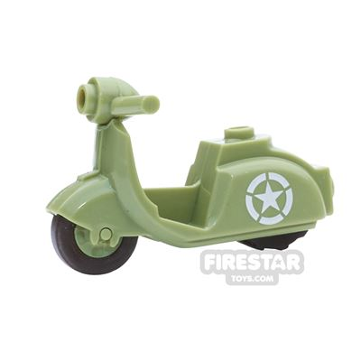 BrickForge - Scooter - Star Pattern - Olive Green