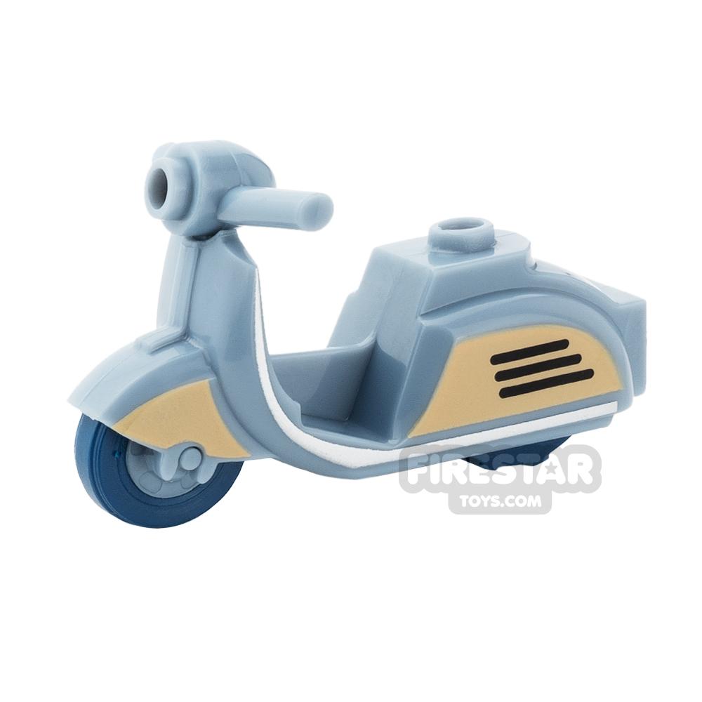 BrickForge - Retro Scooter - Sand Blue