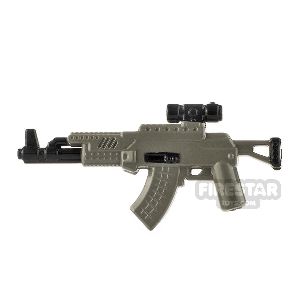 LeYiLeBrick Assault Rifle 1 Black / Gray