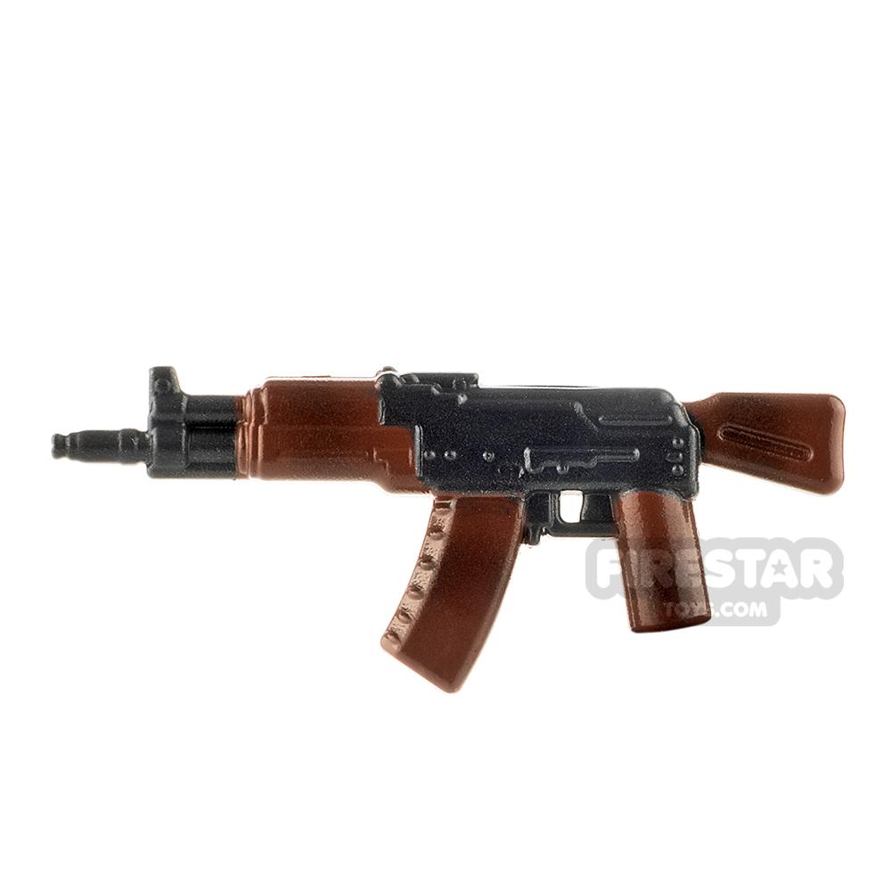 LeYiLeBrick Assault Rifle 2 Steel / Camo