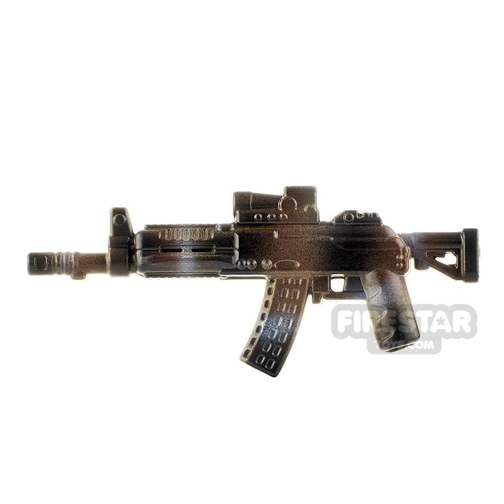 LeYiLeBrick Assault Rifle 3 Dark Camo