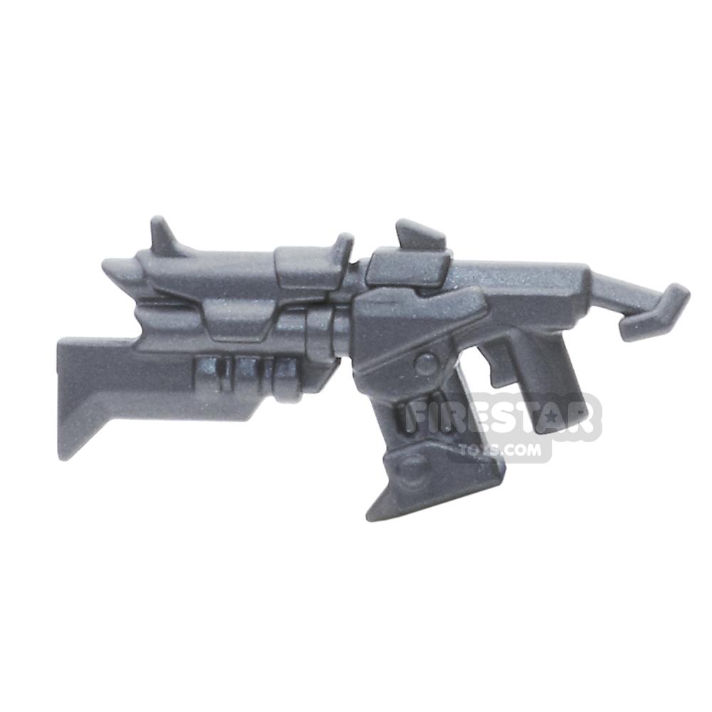 BrickWarriors - Raider Shotgun - Steel