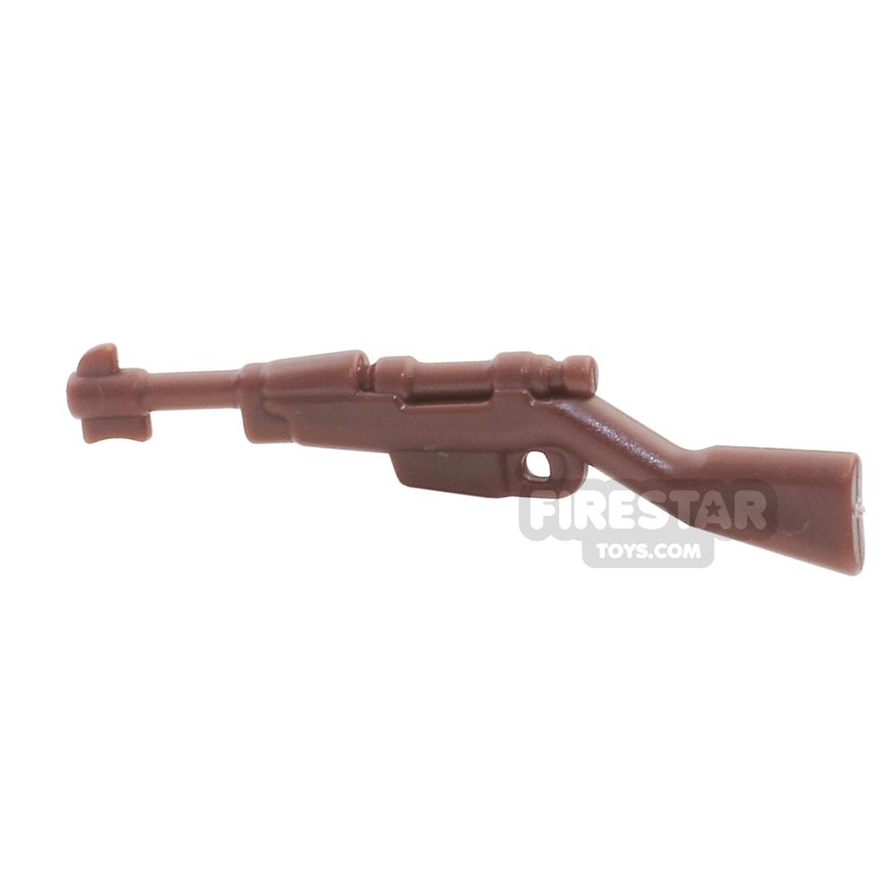 BrickWarriors - Italian Rifle - Brown