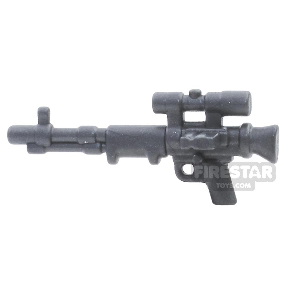 BrickWarriors - FallschirmJager Rifle - Steel