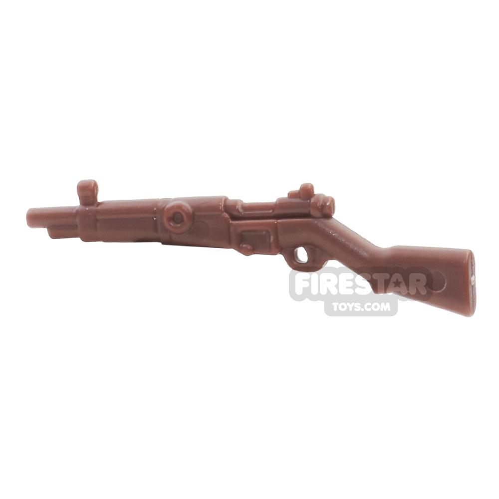 BrickWarriors - French Rifle - Brown