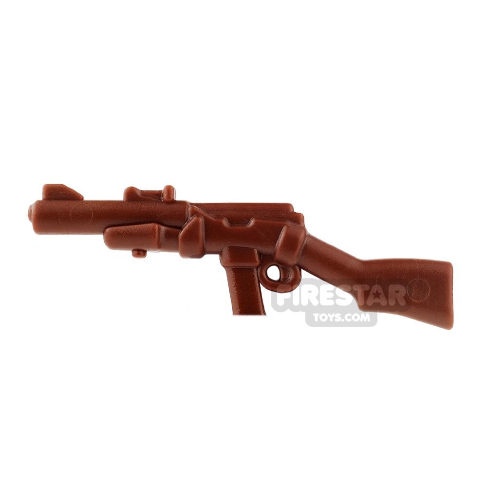 BrickWarriors - Commando Carbine - Brown
