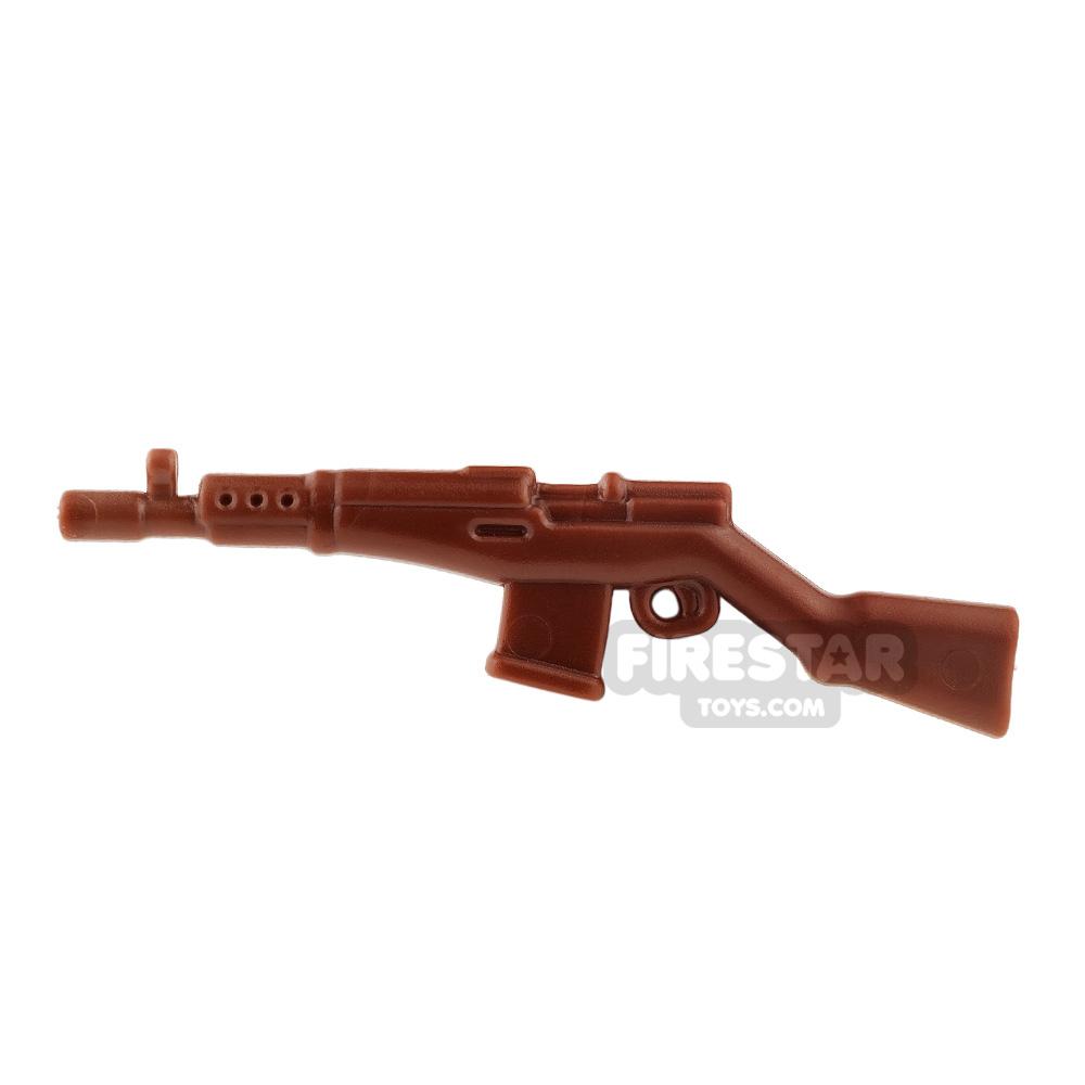 BrickWarriors - Soviet Rifle - Brown