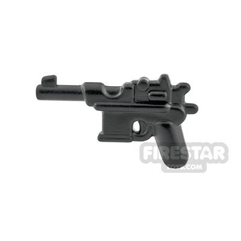 BrickWarriors - WW2 Semi Auto Pistol - Steel