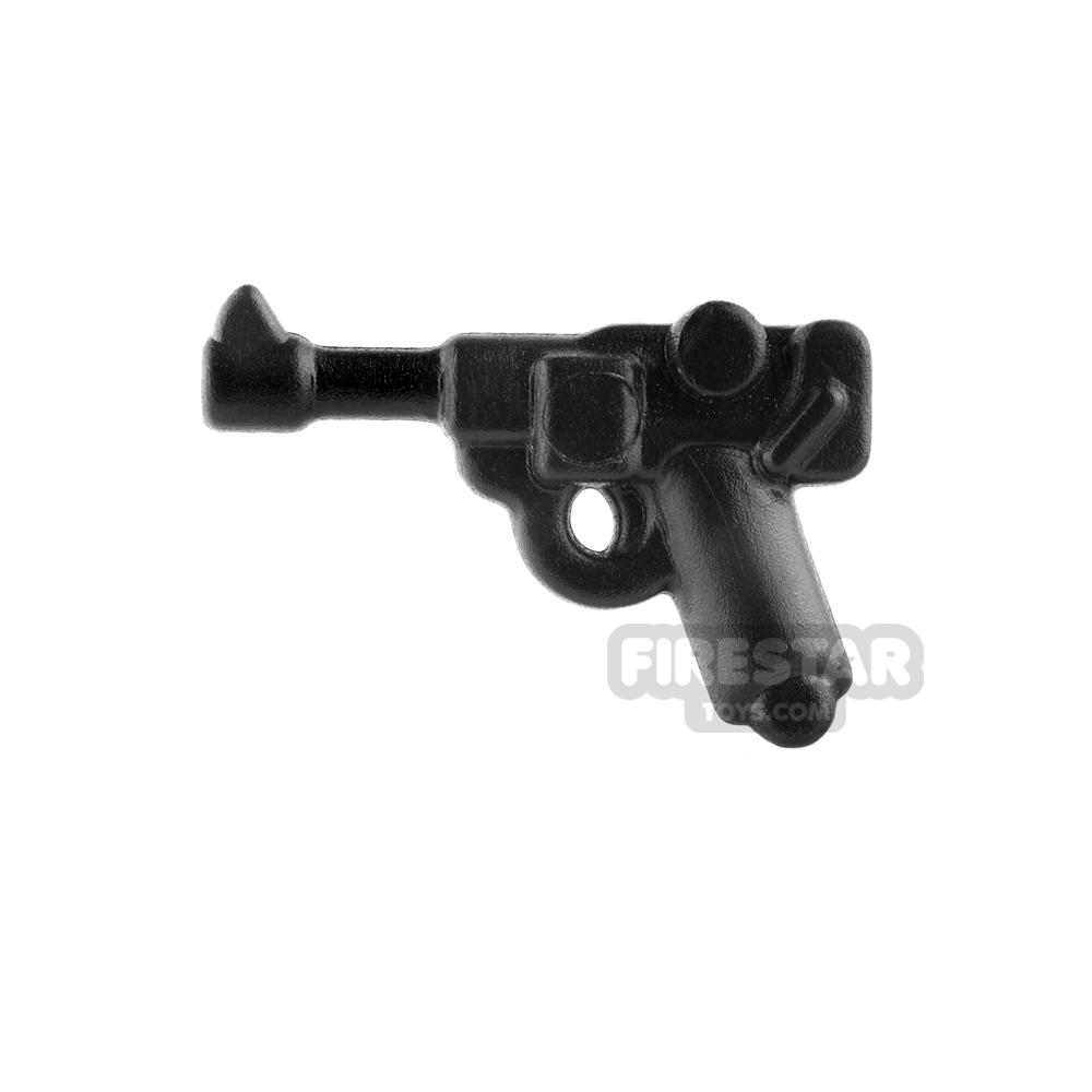 BrickWarriors - German Officer Pistol - Black