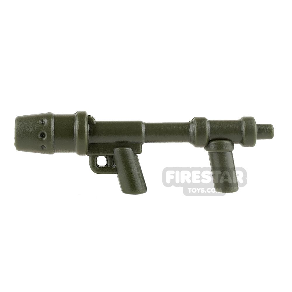 BrickWarriors - US Flamethrower - Army Green