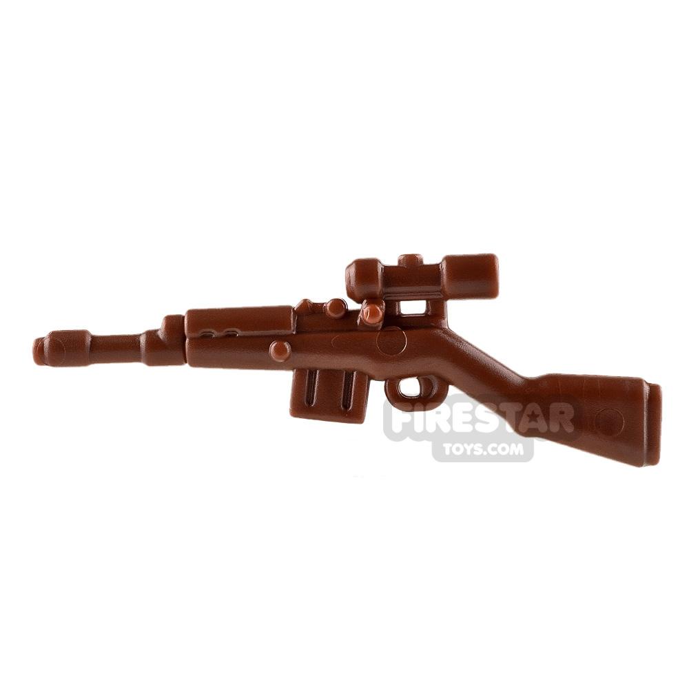 BrickWarriors - German Sniper - Brown