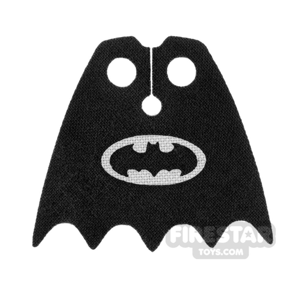 Custom Design Cape - Batman Logo - Light Gray