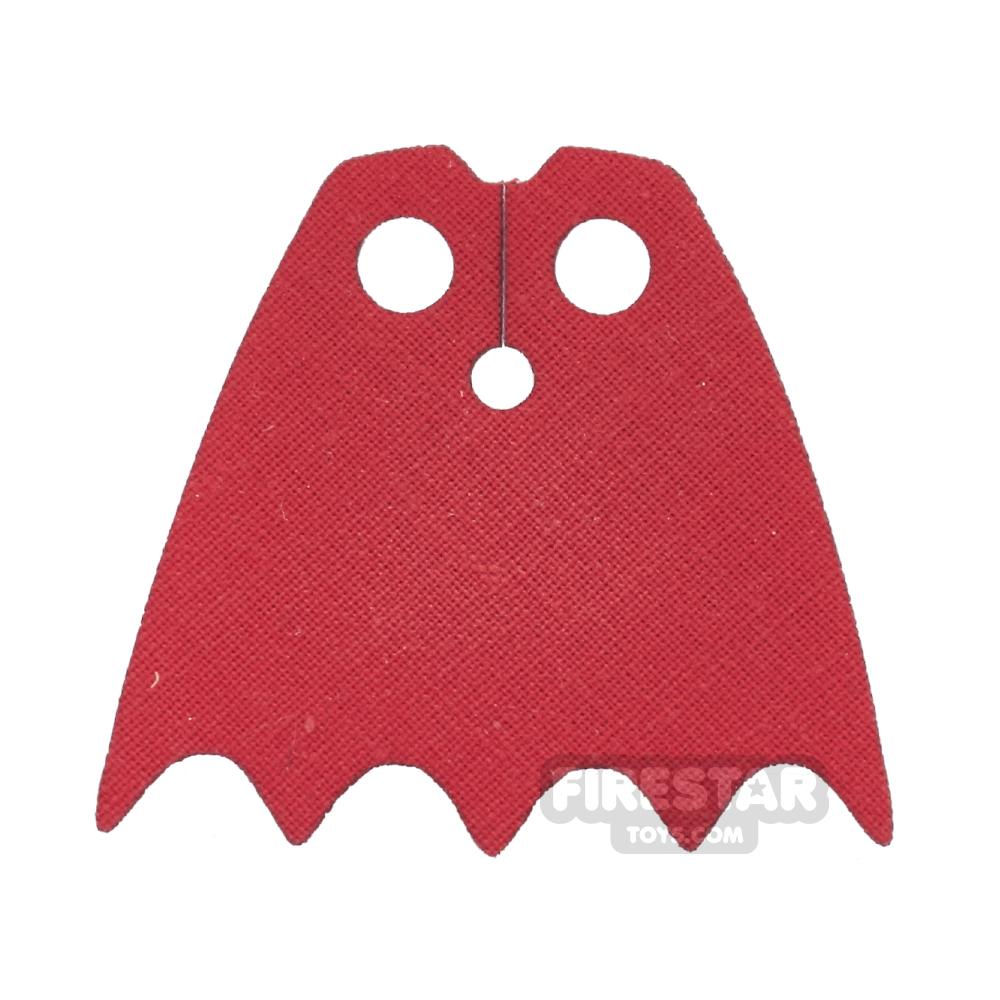 Custom Design Cape - Batman - Bright Red