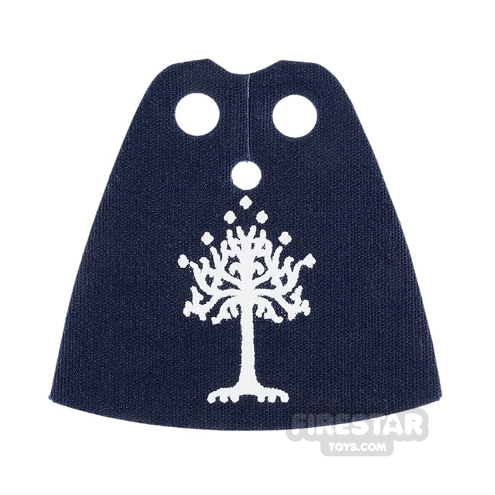 Custom Design Cape - Standard - Dark Blue with Tree
