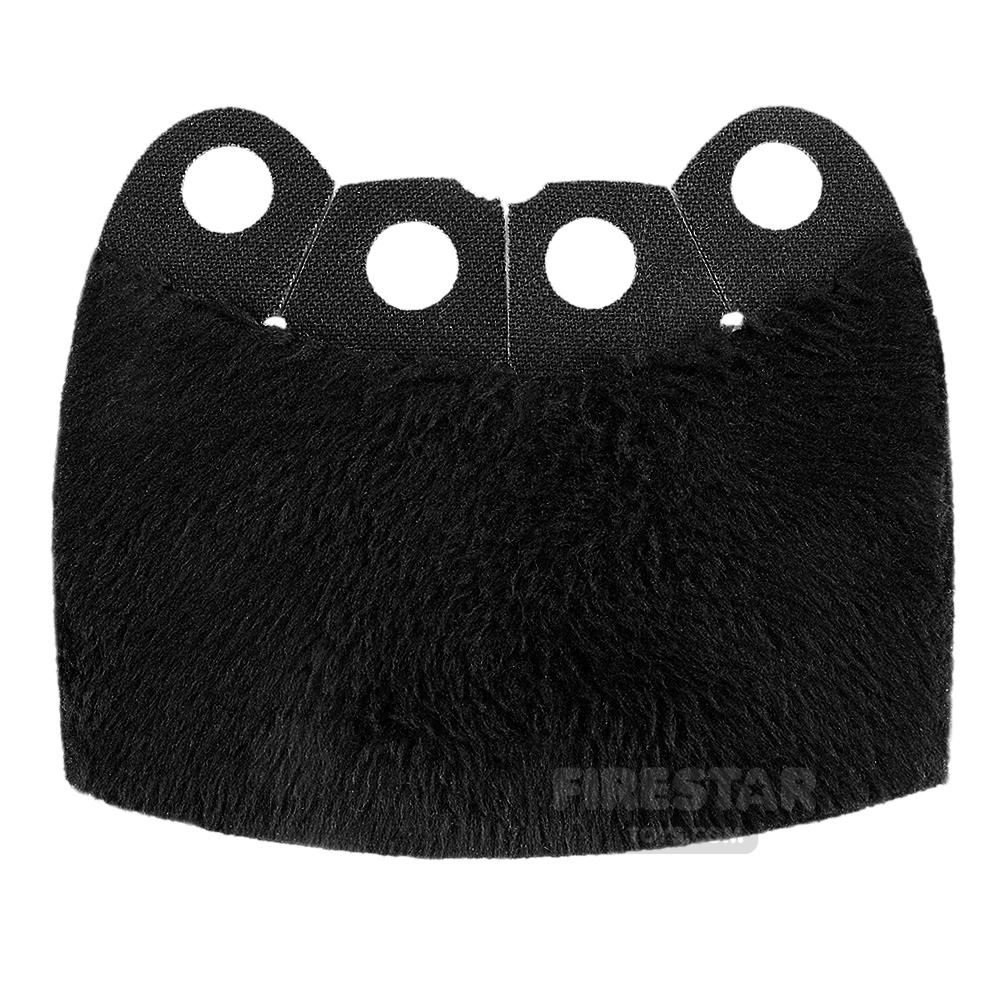 Custom Design Cape - Over Cape - Full Fur - Black