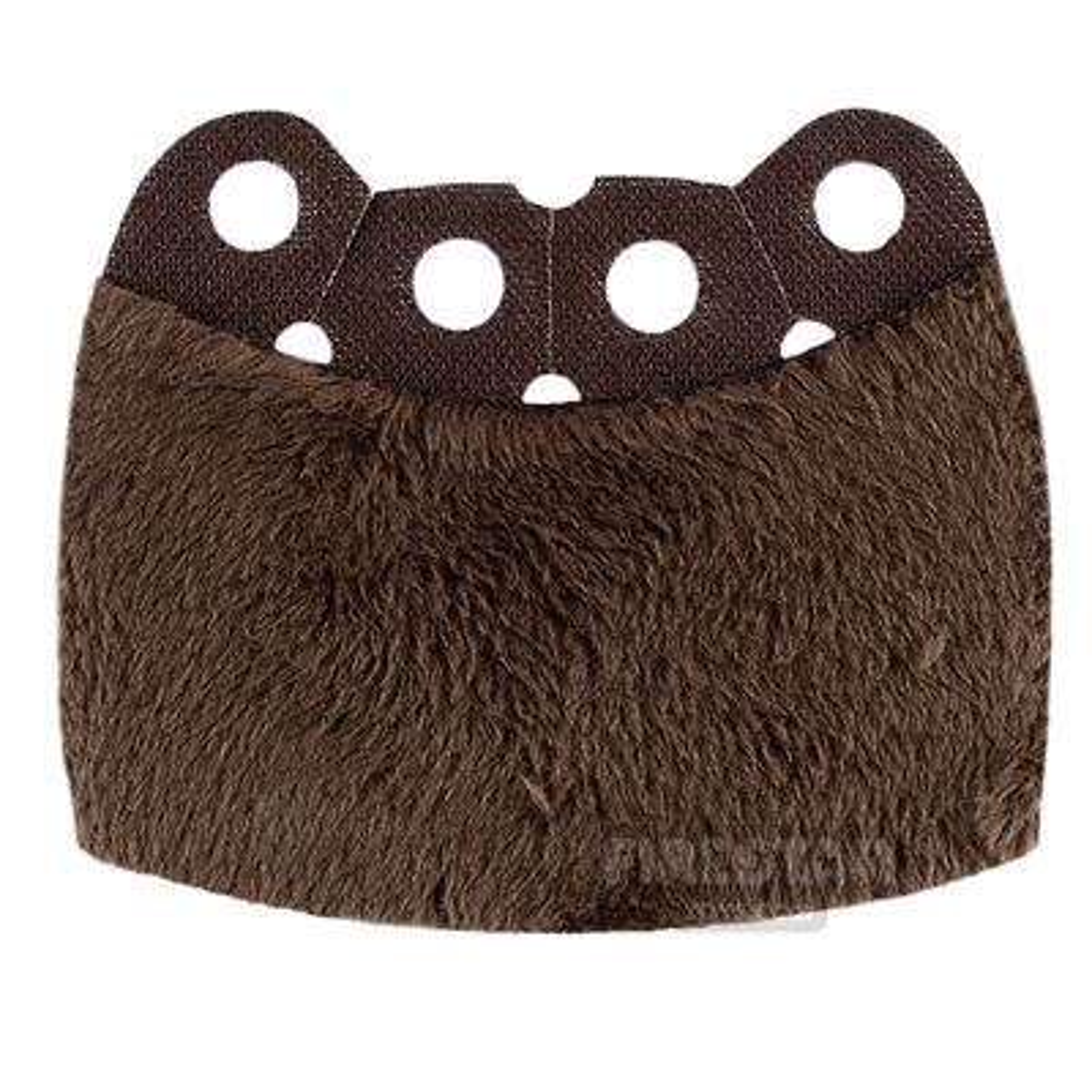 Custom Design Cape - Over Cape - Full Fur - Dark Brown