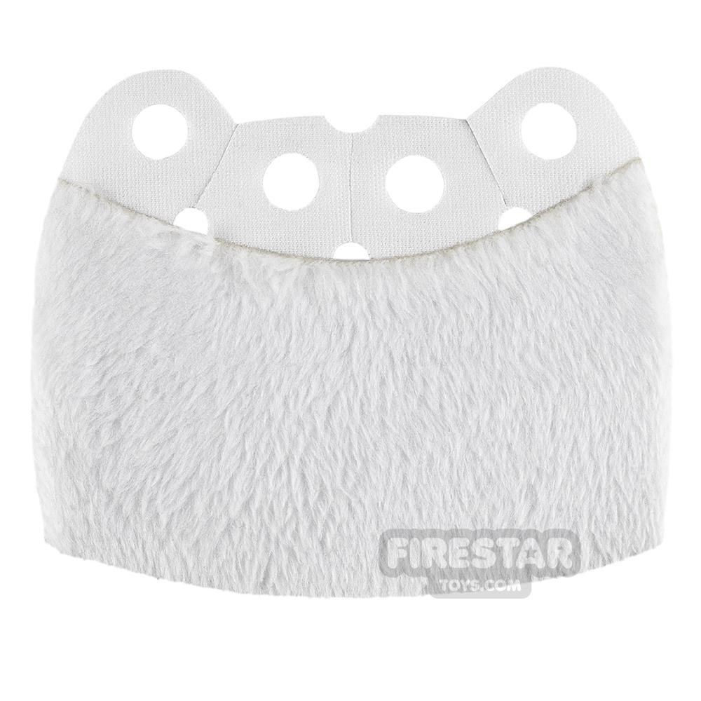 Custom Design Cape - Over Cape - Full Fur - White