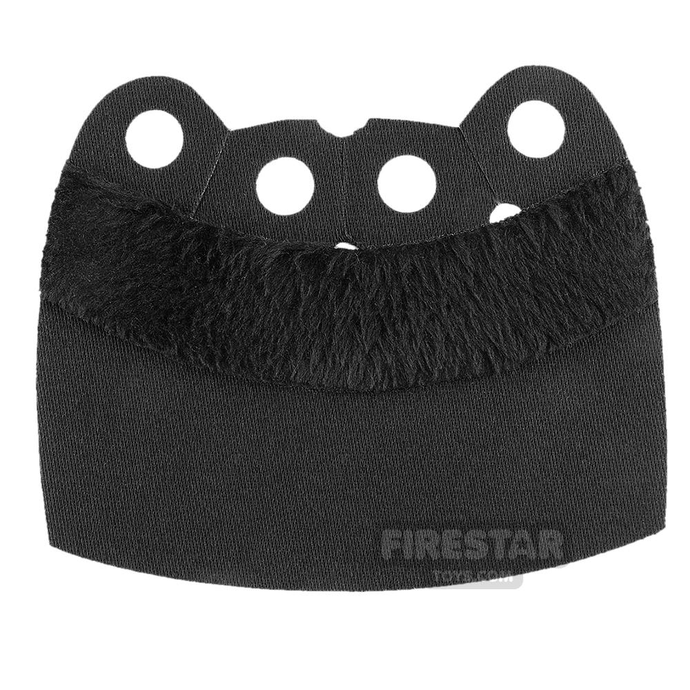 Custom Design Cape - Over Cape - Upper Fur - Black
