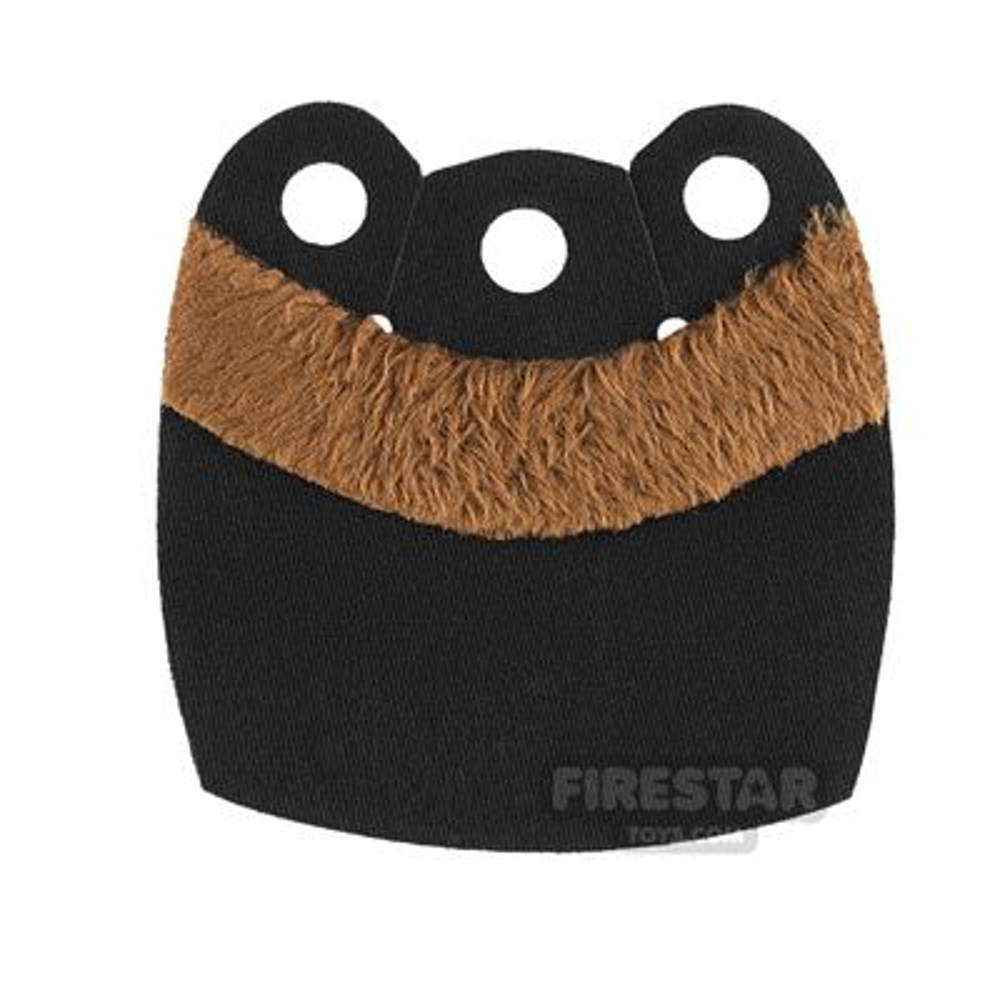 Custom Design Cape - Mid Cape - Upper Fur - Black - Brown Fur