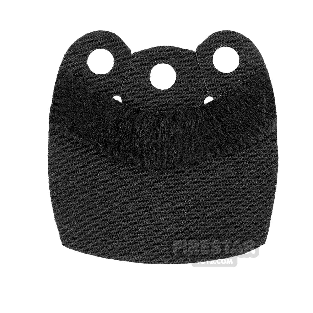 Custom Design Cape - Mid Cape - Upper Fur - Black