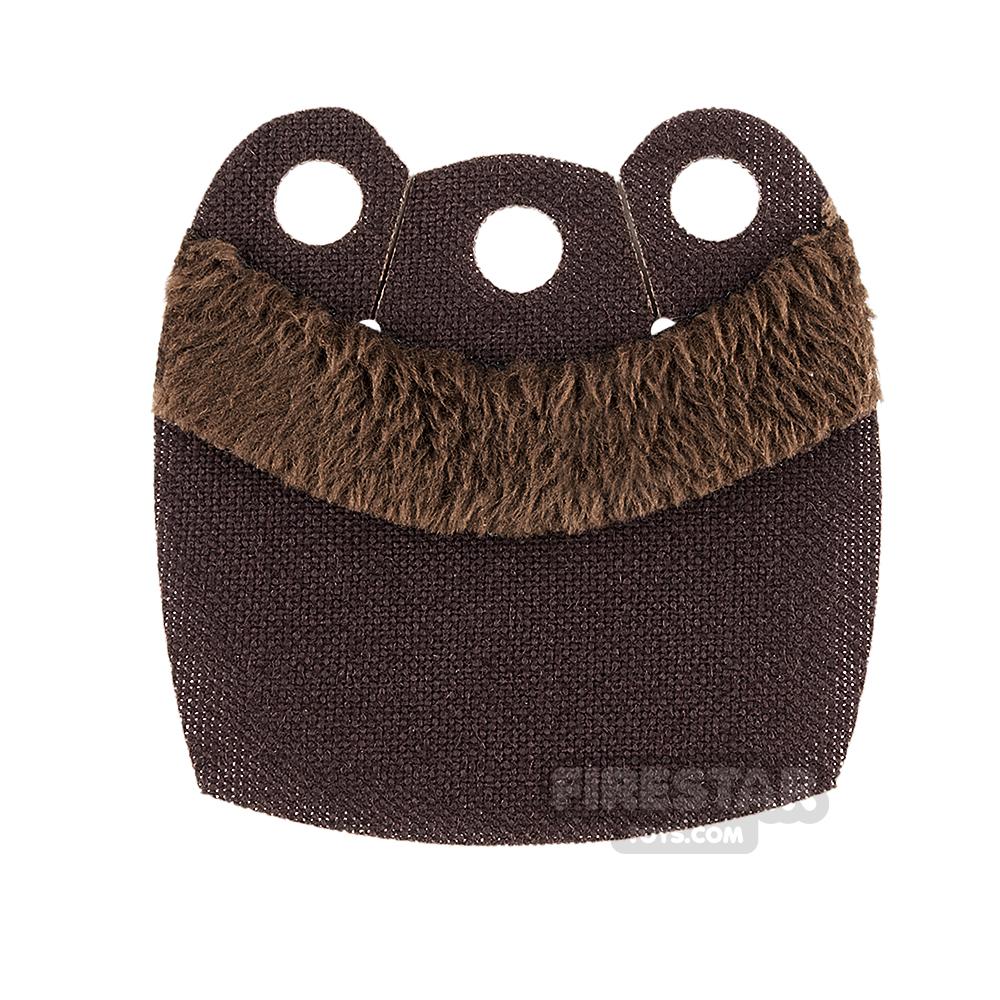Custom Design Cape - Mid Cape - Upper Fur - Dark Brown
