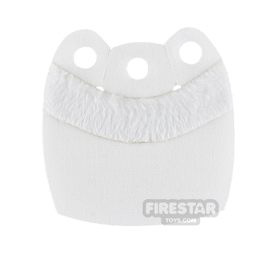 Custom Design Cape - Mid Cape - Upper Fur - White