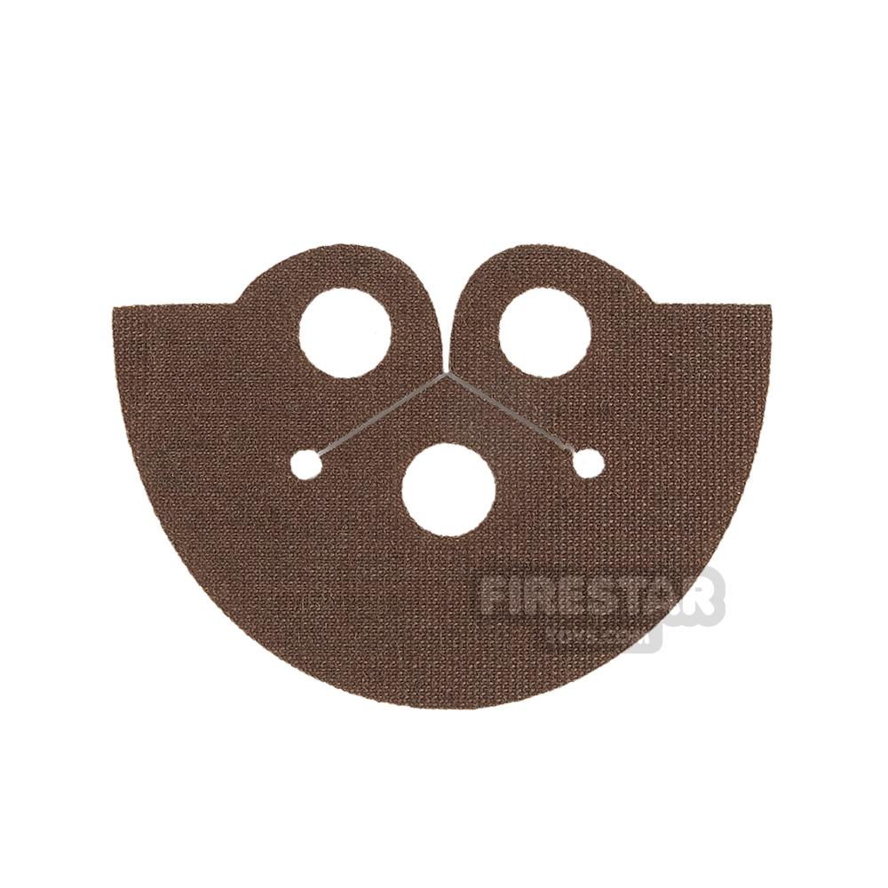 Custom Design Cape - Dress Coat Topper - Brown