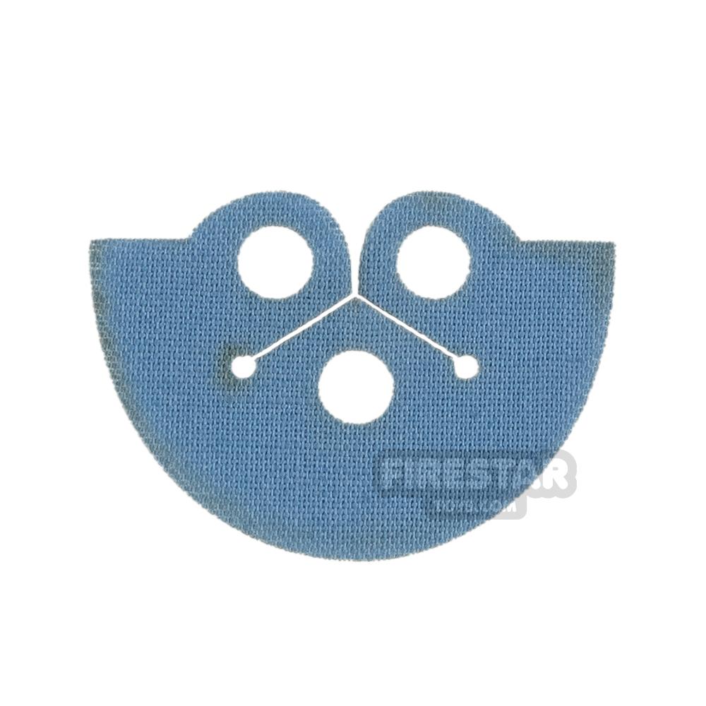 Custom Design Cape - Dress Coat Topper - Sand Blue