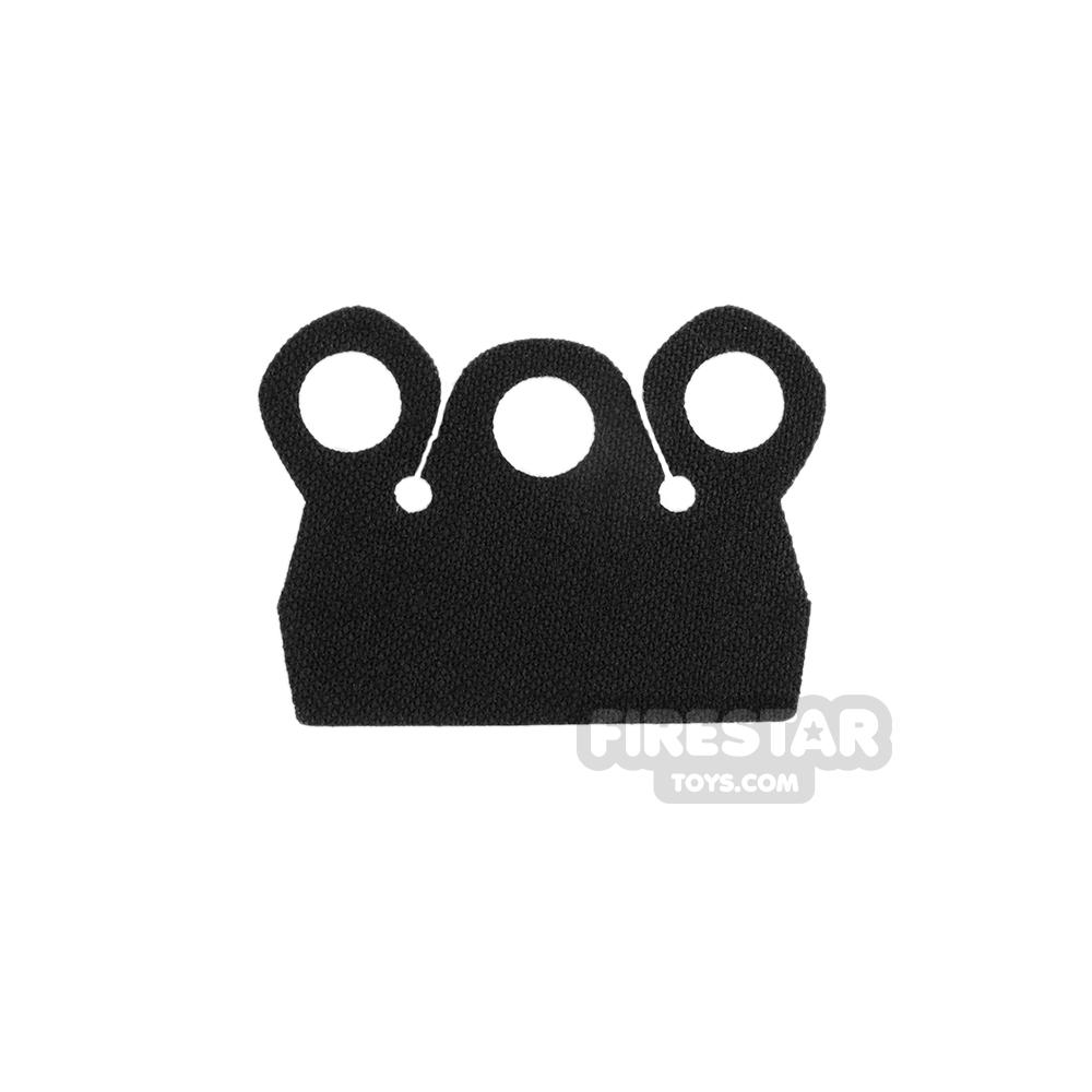 Custom Design Cape - Mod Collar - Black