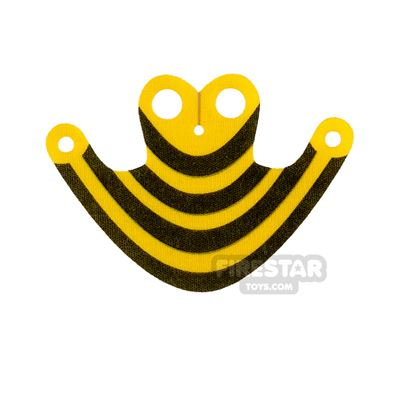 Custom Design Cape - Flying Cape - Black and Yellow