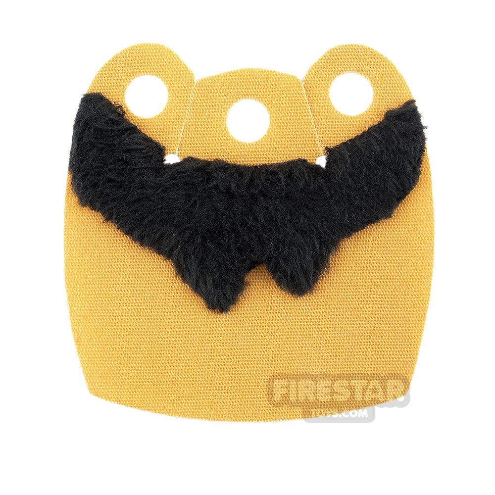 Custom Design Cape - Mid Cape - Upper Fur - Torn - Light Gold