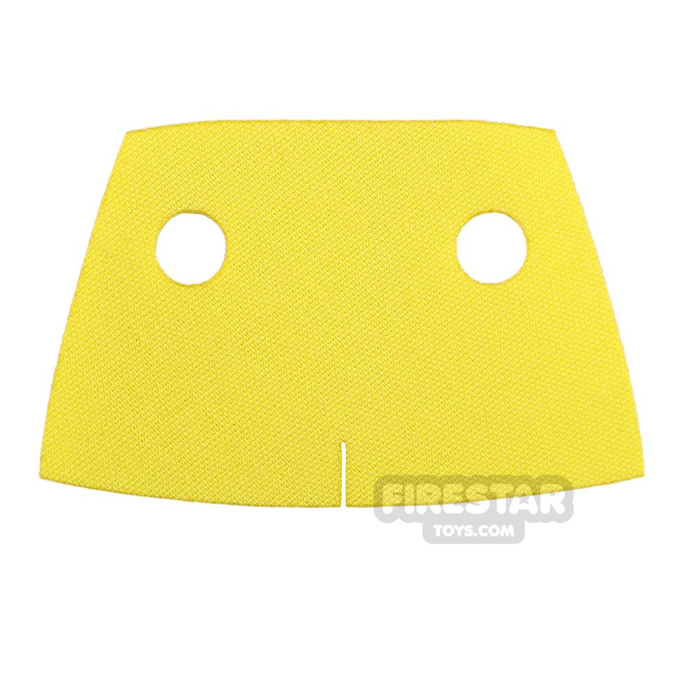 Custom Design Cape - Short Trenchcoat - Yellow