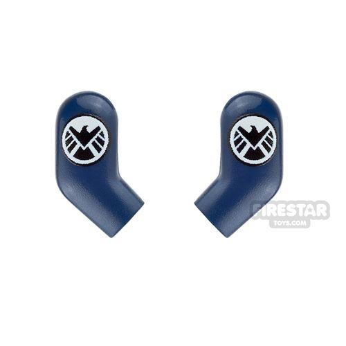 Custom Design Arms - Black Shield Agent Logo