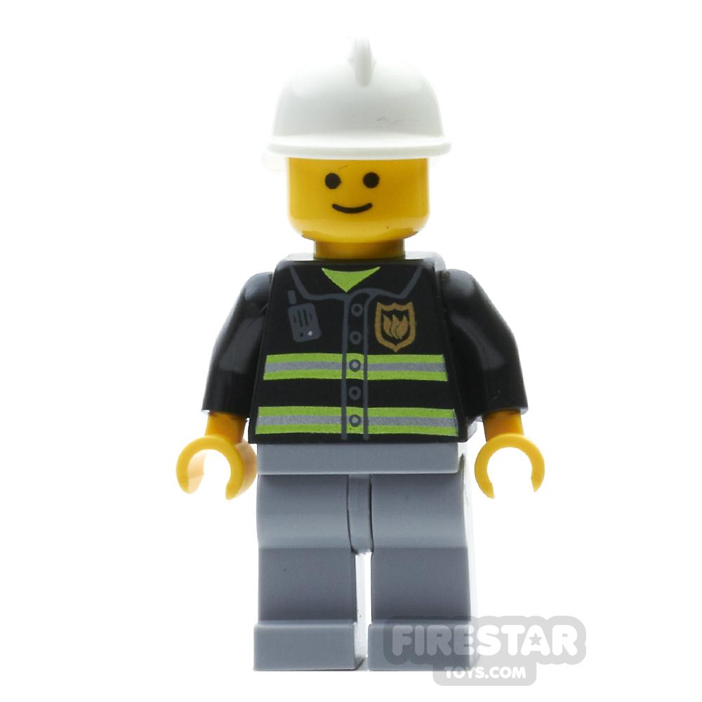 LEGO City Mini Figure - Fireman Grin