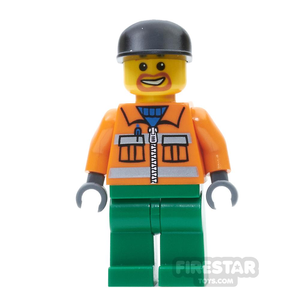 LEGO City Mini Figure - Sanitary Engineer 1