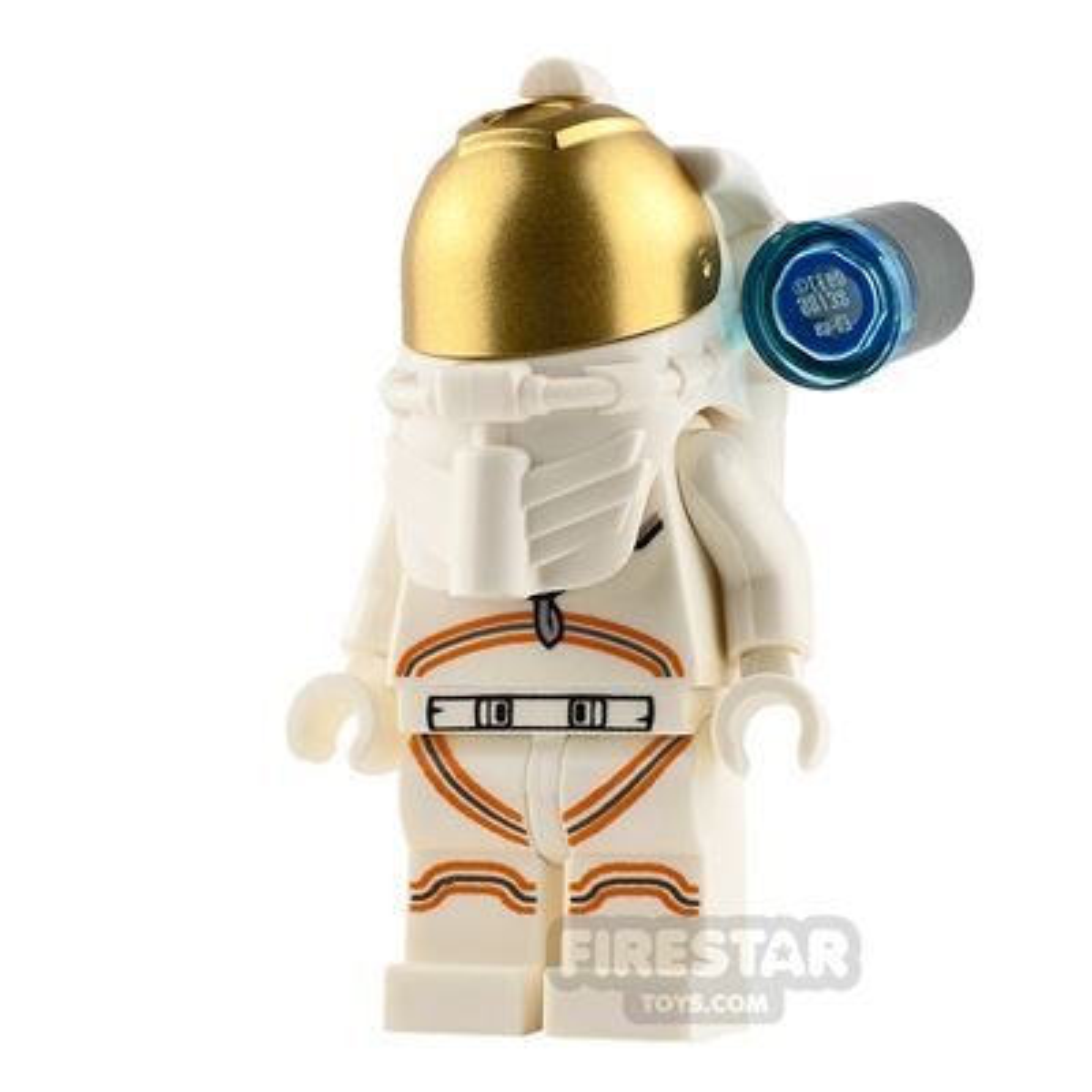 LEGO City Minifigure Astronaut with Smirk