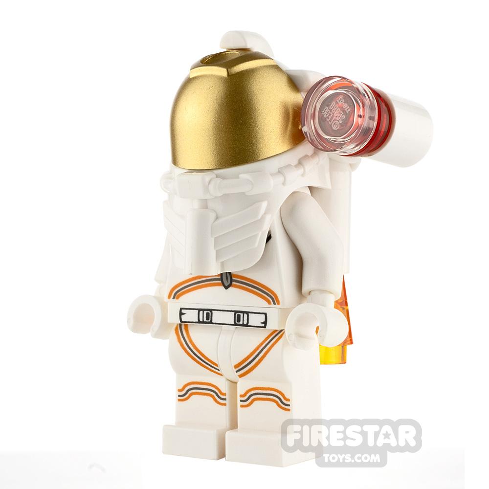 LEGO City Minifigure Female Astronaut White Spacesuit