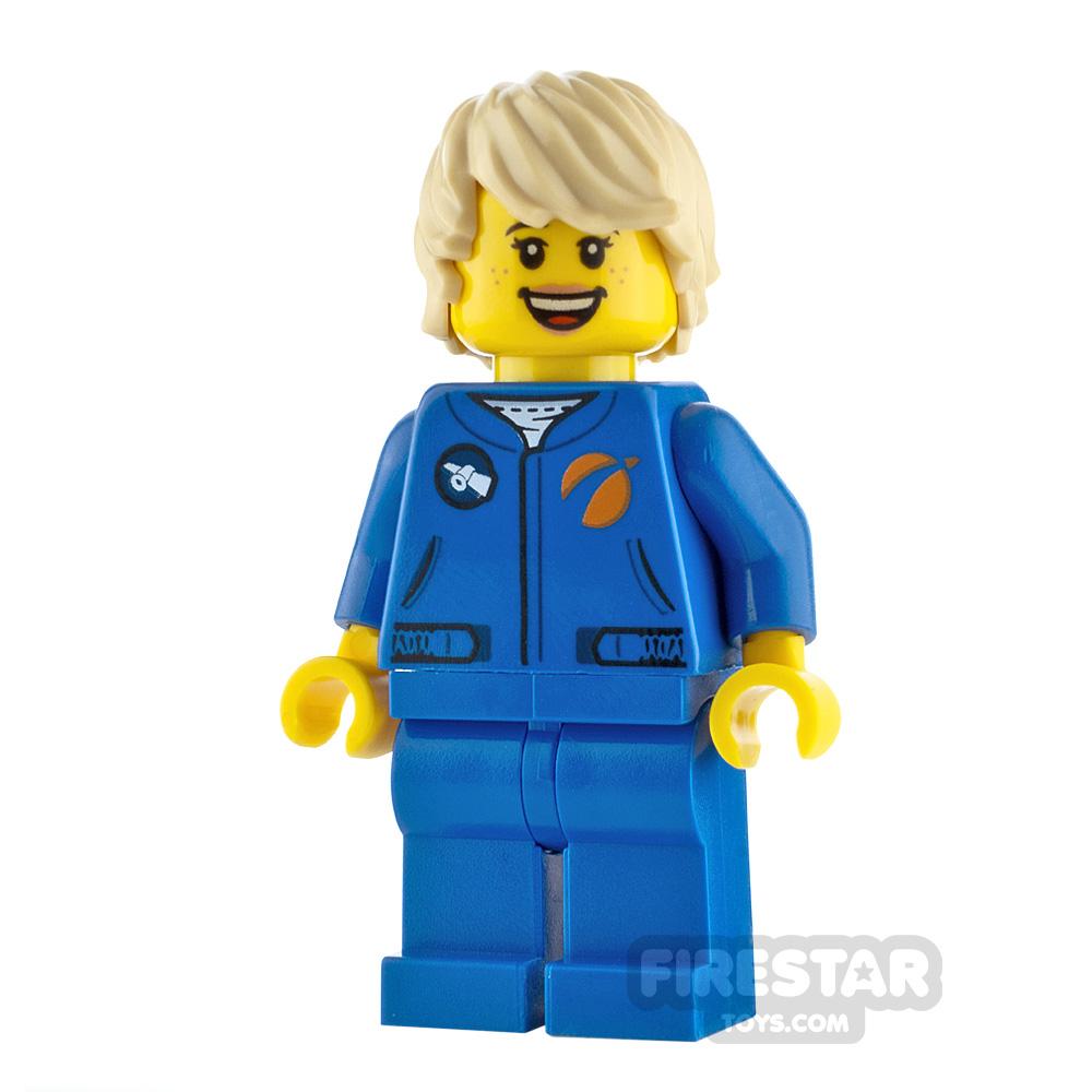 LEGO City Minifigure Astronaut Jumpsuit