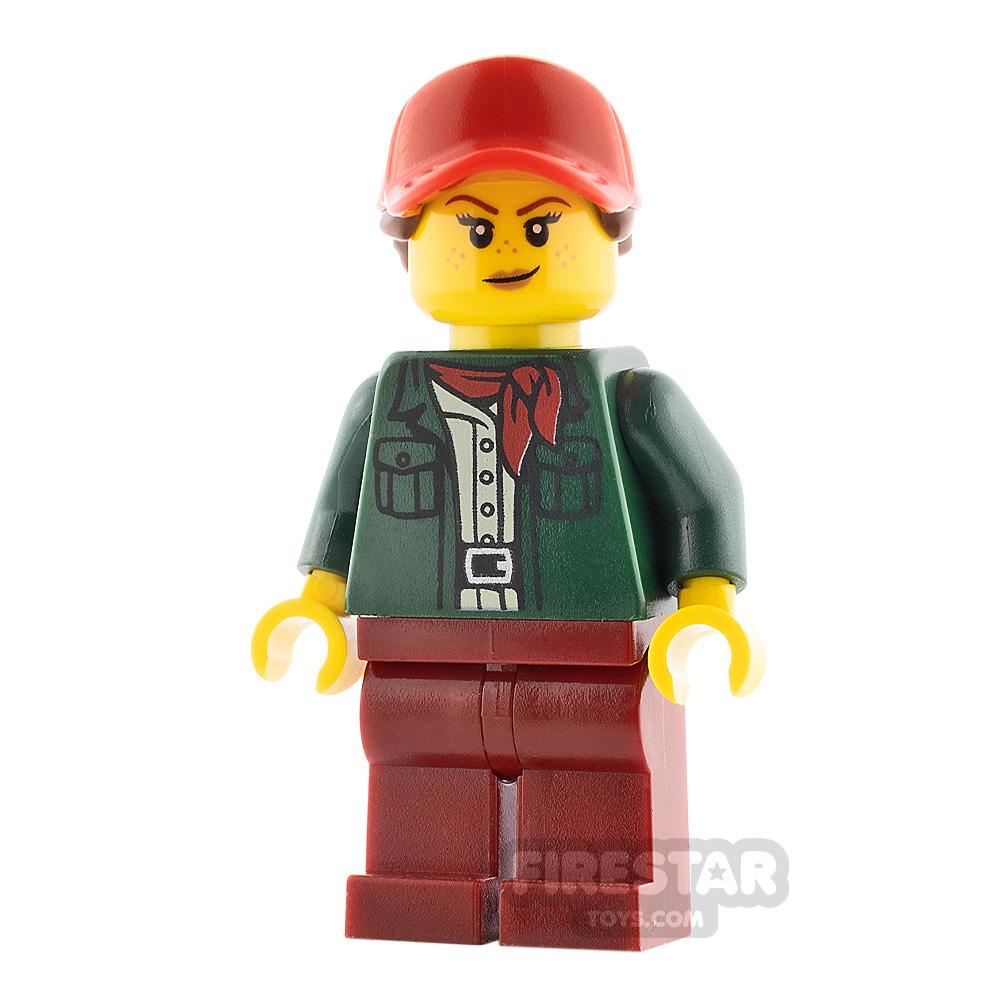 LEGO City Minifigure Female Safari Tourist