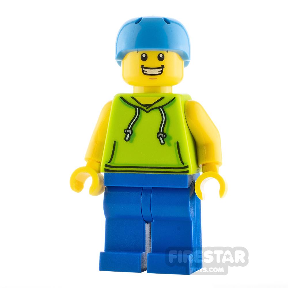 LEGO City Minfigure Skateboarder Male
