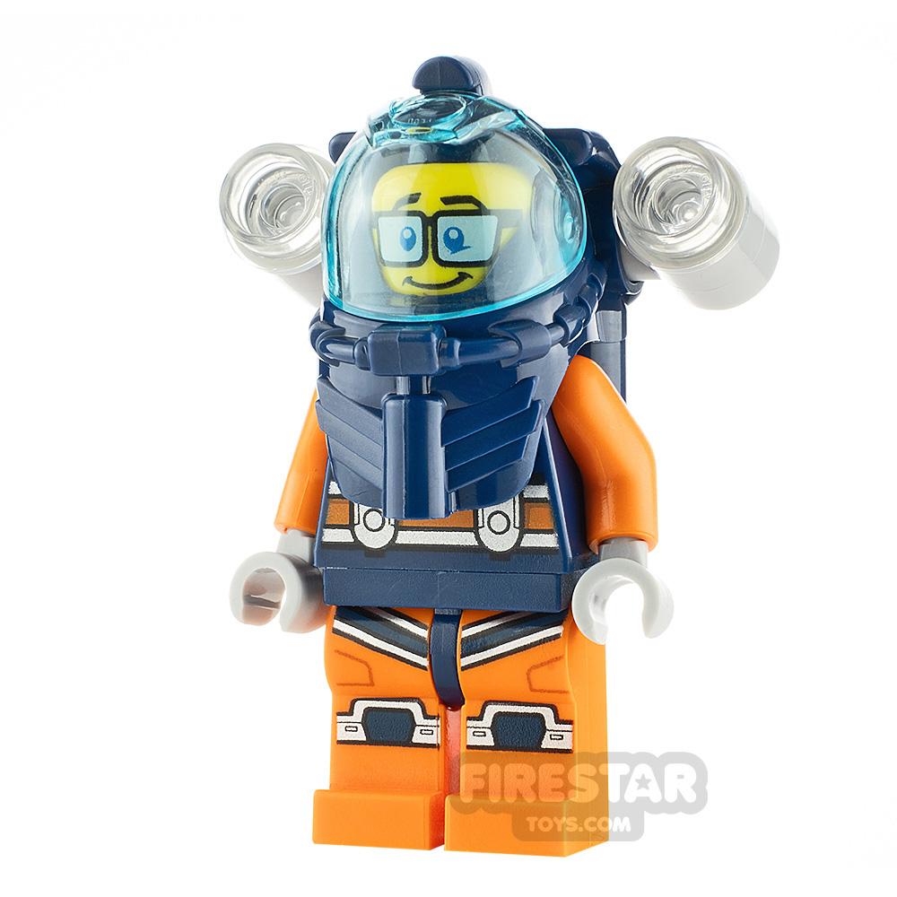 LEGO City Minfigure Deep Sea Diver Male