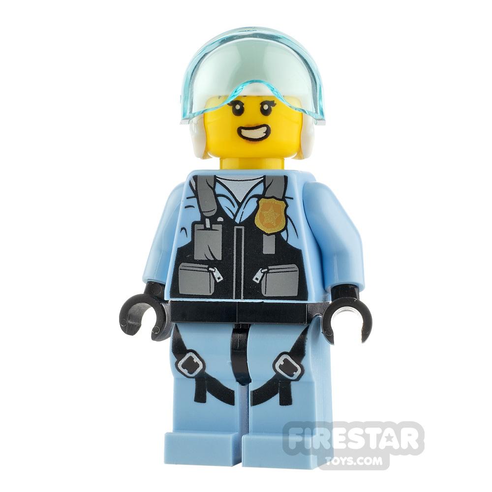 LEGO City Minfigure Rooky Partnur Jet Pilot