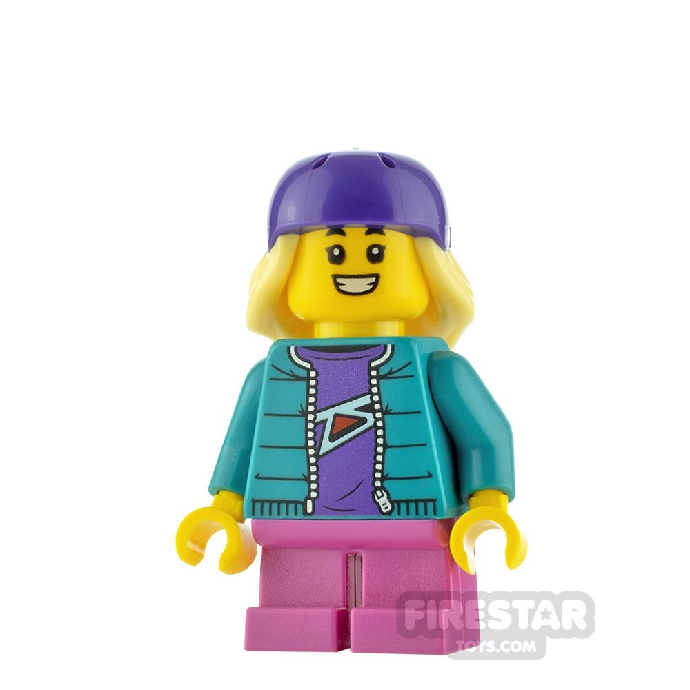 LEGO City Minfigure Skater Girl