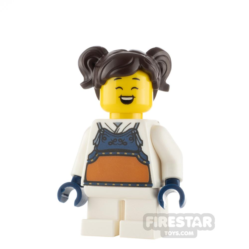 LEGO City Minfigure Madison Bogu Armour