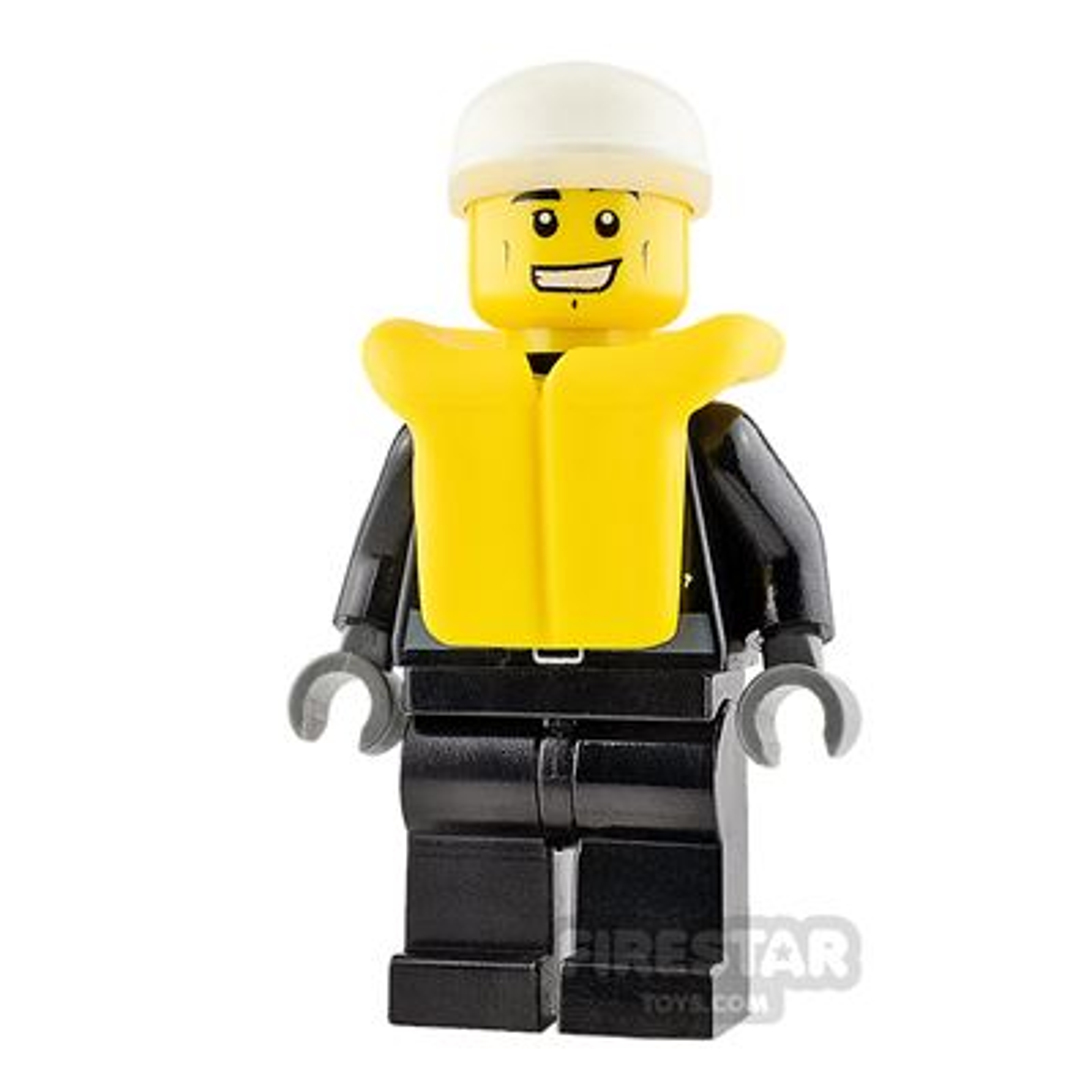 LEGO City Mini Figure - Police - Life Jacket