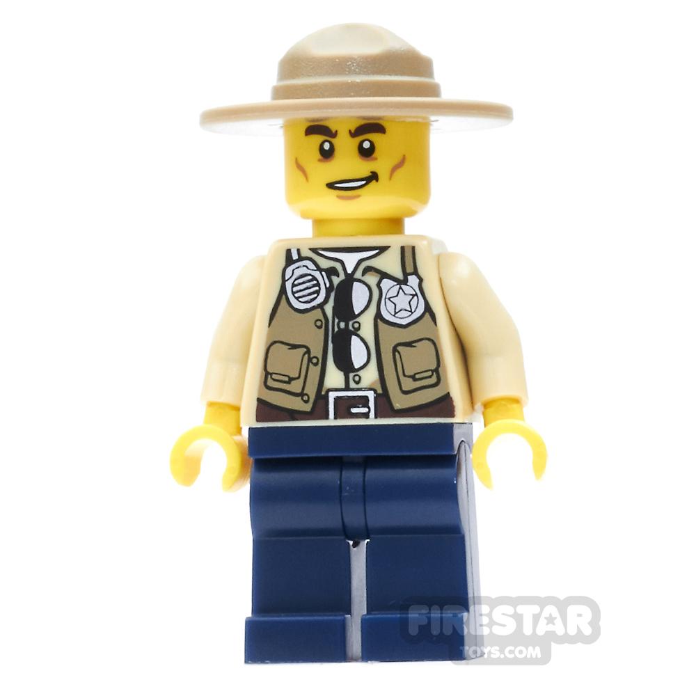 LEGO City Mini Figure - Swamp Police - Ranger