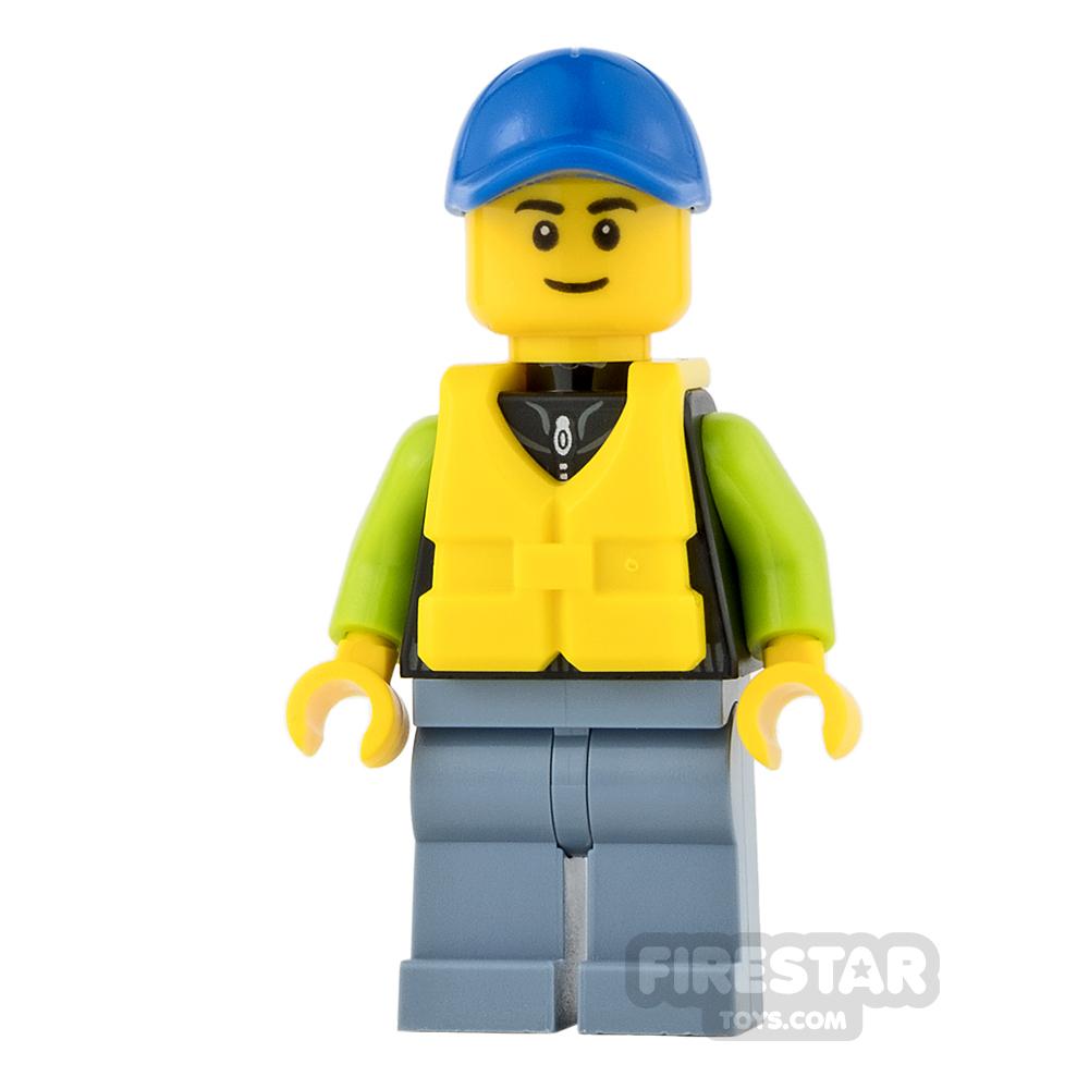 LEGO City Mini Figure - Catamaran Operator - Male